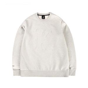 이니셜 웜업 티셔츠 1543 오트밀